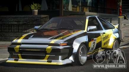 1983 Toyota AE86 GS Racing L7 para GTA 4