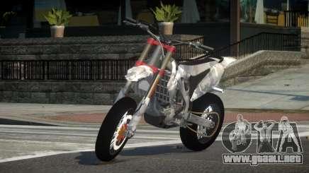 Honda CRF 250 L6 para GTA 4