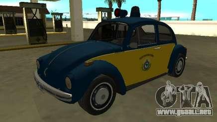 Volkswagen Beetle 94 Policía Federal de Carreteras para GTA San Andreas