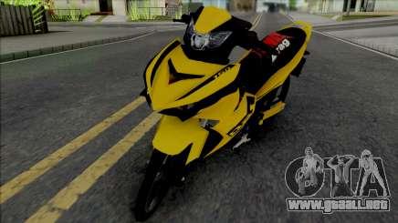 Yamaha Y15ZR V2 Sniper Kuning para GTA San Andreas