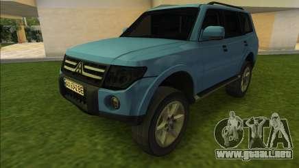 Mitsubishi Pajero (good car) para GTA Vice City