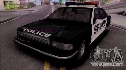 Beta Premier Police SF (Final) para GTA San Andreas
