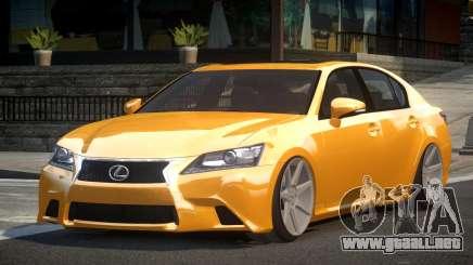 Lexus GS 350 F-Sport para GTA 4