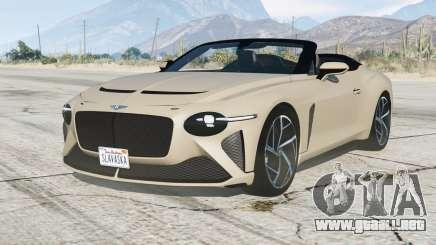 Bentley Mulliner Bacalar 2020〡add-on para GTA 5