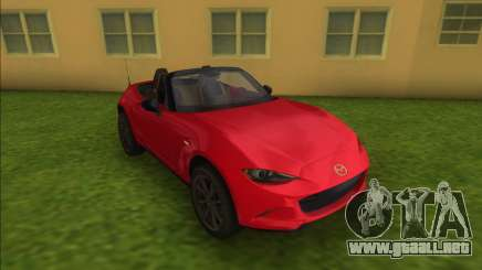 Mazda MX5 Roadster 2015 para GTA Vice City