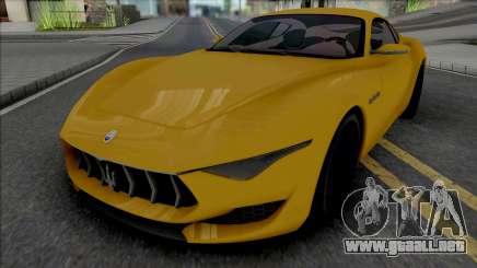 Maserati Alfieri (ImVehFt) para GTA San Andreas