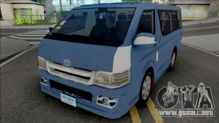 Toyota Hiace [IVF] para GTA San Andreas