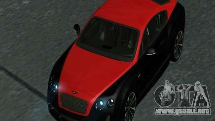 Bentley Continental GT 2014 para GTA San Andreas