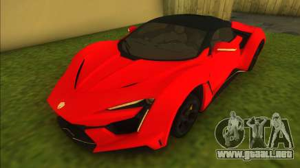 W-Motors Fenyr SuperSport para GTA Vice City