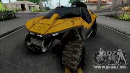 GTA Halo Civilian Warthog GGM Conversion para GTA San Andreas