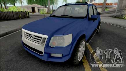 Ford Explorer Sport Trac Limited 2008 para GTA San Andreas