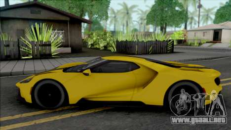 Ford GT (SA Lights) para GTA San Andreas