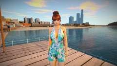 Kasumi Casual Summer para GTA San Andreas
