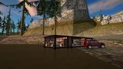 Casa de seguridad de la cabina del pantano para GTA San Andreas