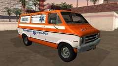 Dodge Tradesman B-200 1976 Ambulancia