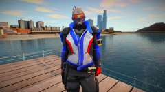 Soldier 76 From Overwatch para GTA San Andreas