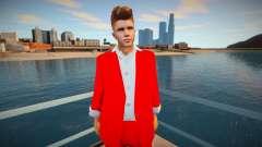 Justin Bieber Skin para GTA San Andreas