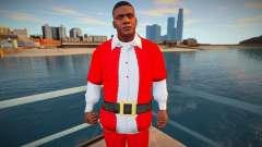 Franklin en traje de Navidad para GTA San Andreas
