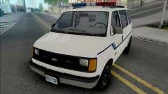 Chevy Astro 1988 Fort Carson Police Department