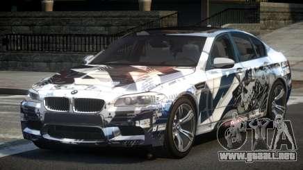BMW M5 F10 PSI-R S1 para GTA 4