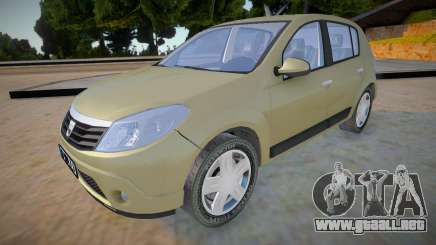 Dacia Sandero 2008 James May para GTA San Andreas