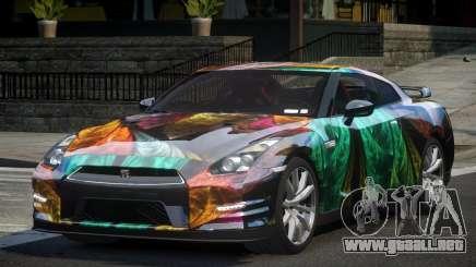 Nissan GT-R V6 Nismo S7 para GTA 4