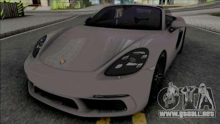Porsche 718 Boxster S para GTA San Andreas