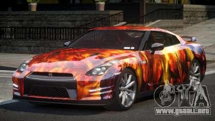 Nissan GT-R V6 Nismo S3 para GTA 4