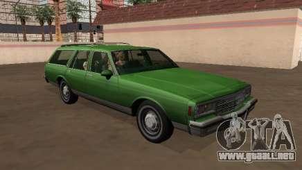Chevrolet Impala 1984 Camioneta para GTA San Andreas