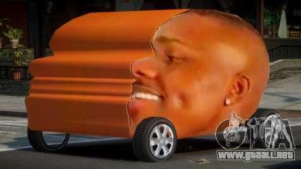 Dababy Car para GTA 4
