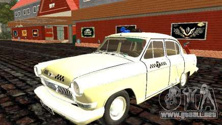 Gaz-21 Geshi y Lelika (taxi) para GTA San Andreas