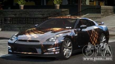 Nissan GT-R V6 Nismo S4 para GTA 4