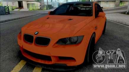BMW M3 GTS [Fixed] para GTA San Andreas