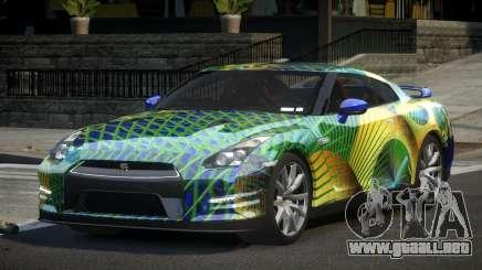 Nissan GT-R V6 Nismo S8 para GTA 4