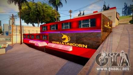 Vainilla Unicorn GTA V para GTA San Andreas