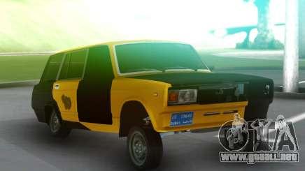 Vaz 2104 Autosh Avara Gagash para GTA San Andreas