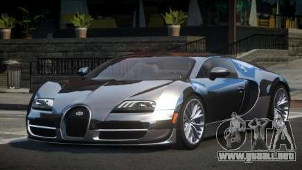 Bugatti Veyron US para GTA 4
