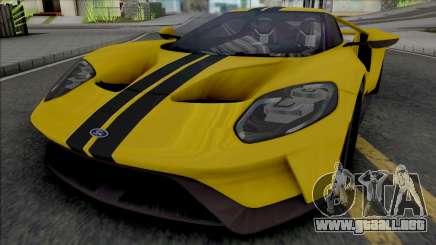Ford GT (SA Lights) para GTA San Andreas