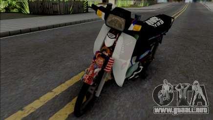 Honda EX5 Hitam para GTA San Andreas