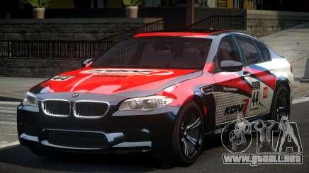 BMW M5 F10 PSI-R S4 para GTA 4