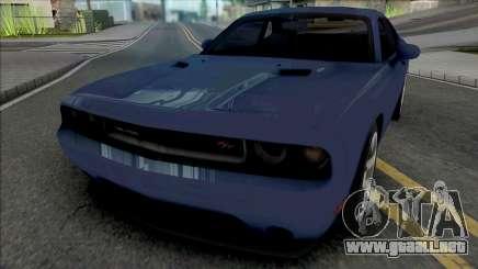 Dodge Challenger RT 2012 para GTA San Andreas