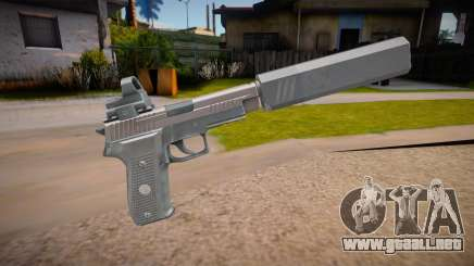 SIG P226R (Escape from Tarkov) - Silenced v3 para GTA San Andreas