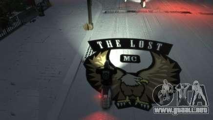 Coloured The Lost Logo For Gang Rides para GTA 4
