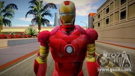 Iron Man Skin HQ para GTA San Andreas