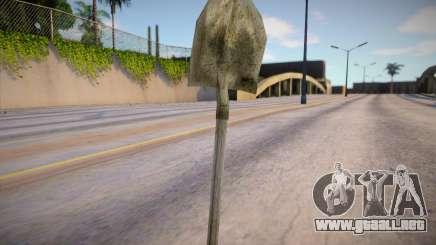 HQ shovel para GTA San Andreas