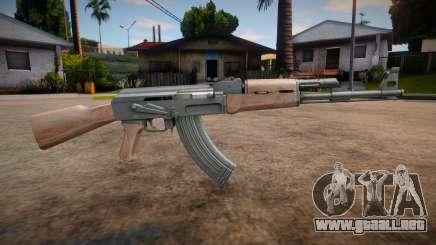 HQ AK-47 V2.0 para GTA San Andreas