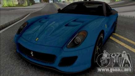 Ferrari 599 GTO [Fixed] para GTA San Andreas