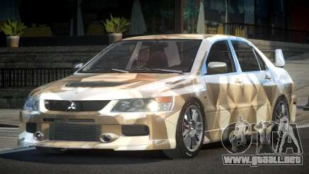 Mitsubishi Lancer GS Tuning L8 para GTA 4
