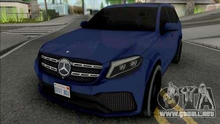 Mercedes-Benz GLS 2017 Lowpoly para GTA San Andreas