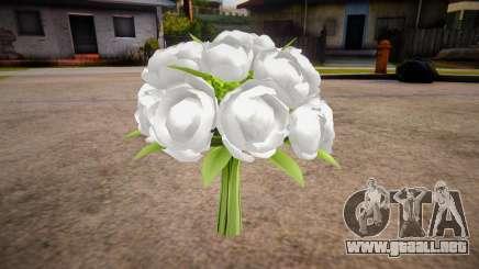 Nuevo ramo de flores para GTA San Andreas